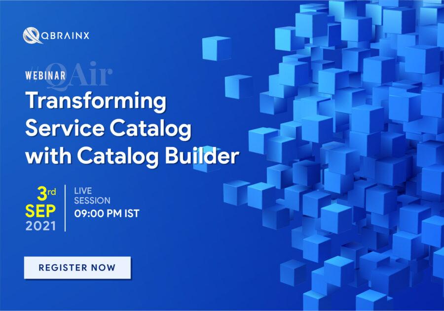 webinar on Catalog Builder